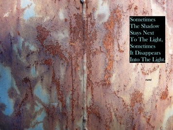 MoArt and Rumi - Sometimes The Shadow Stays Next To...