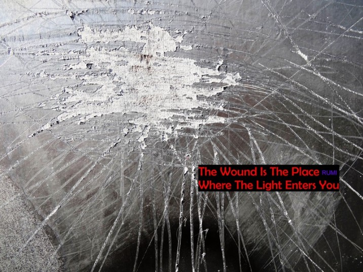 MoArt and Rumi - The Wound Is The Place...
