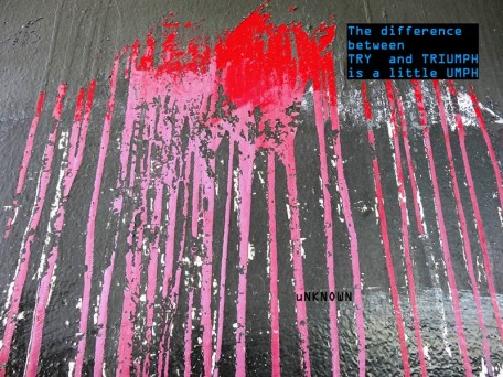 MoArt and Unknown - The Difference Between Try And Triumph...