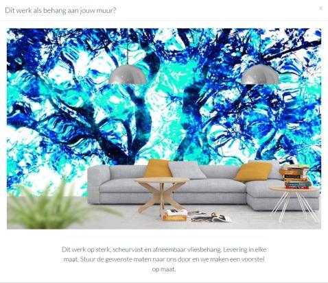 MoArt Tree Magic 136-B - Wallpaper