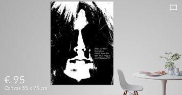 MoArt Dolende Dertiger aan je muur - Alles Is NU