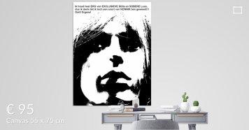 MoArt Dolende Dertiger aan je muur - Exclusieve Stilte Sobere Luxe s3