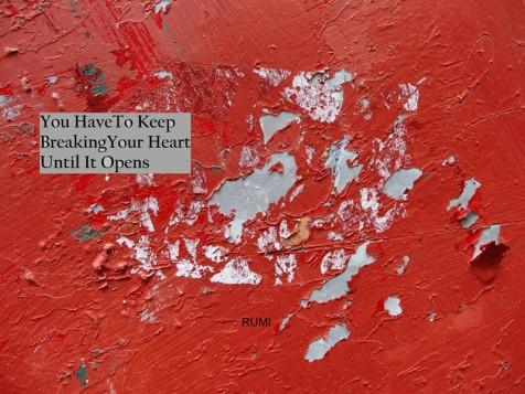 MoArt urban abstract 149 B met spreuk Rumi small