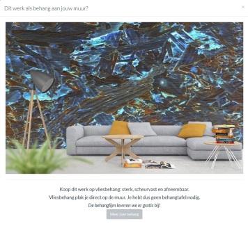 MoArt - Urban Painting 96A als behang