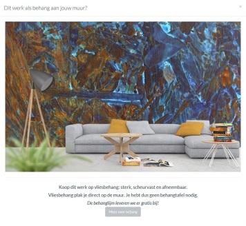 MoArt - Urban Painting 97A als behang