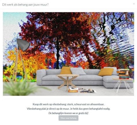 MoArt - Urban Painting 80 als behang