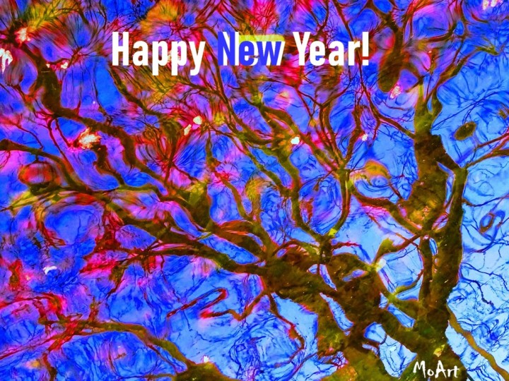 MoArt Happy New Year 2019 voor FB