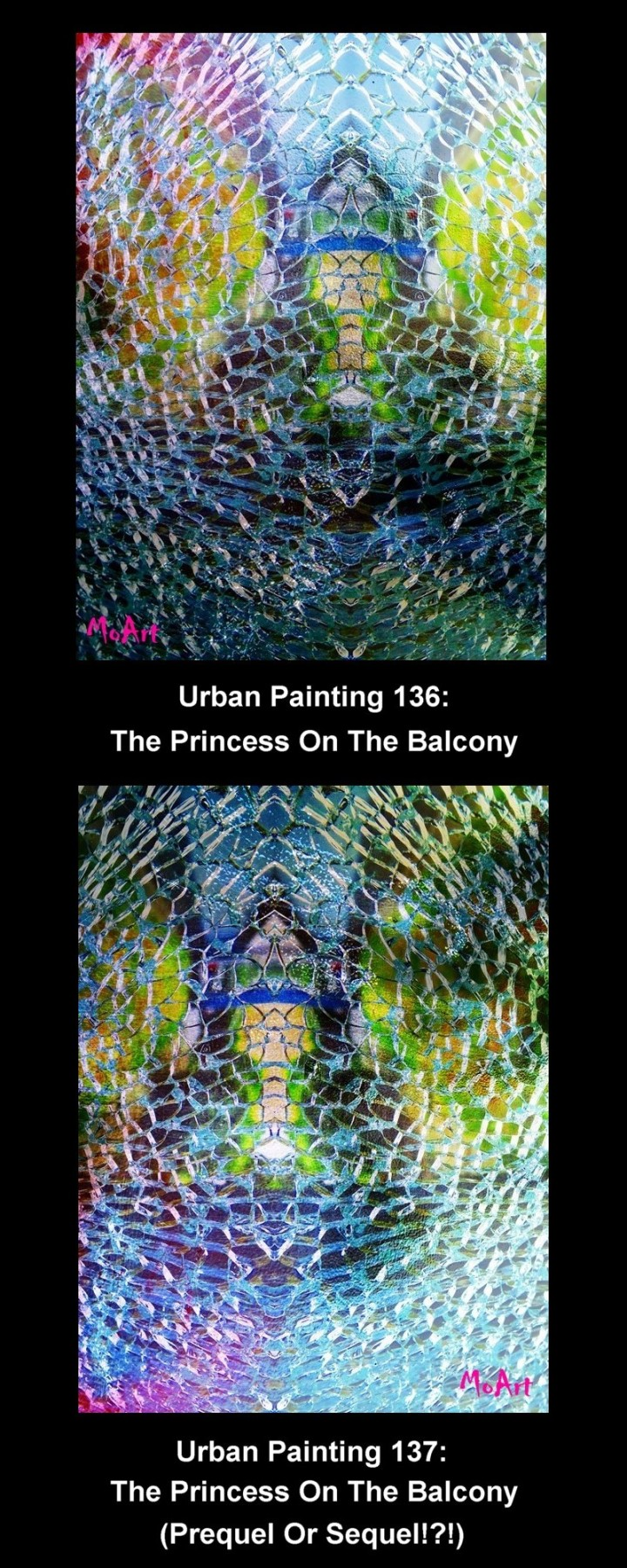 MoArt The Princess On The Balcony 1 and 2