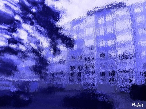 MoArt - Urban Painting 135 Streetview Blue small