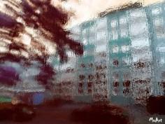 MoArt - Urban Painting 135 Streetview Sepia small